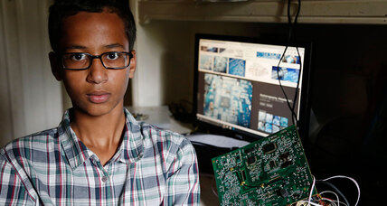 Teen whiz makes a clock, gets arrested – and then invited to the White House